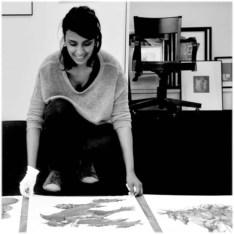 Susana Suniaga ilustradora participante en la VI edición de MAZOKA