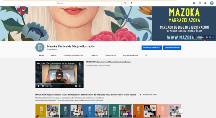 Canal-Youtube MAZOKA