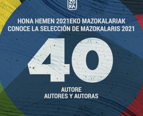Te presentamos a las 40 ilustraedores e ilustradoras que participarán en MAZOKA Online, Mercado de Dibujo e Ilustración